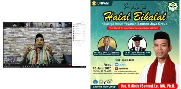 Halal Bihalal Keluarga Besar Yayasan Sasmita Jaya Group